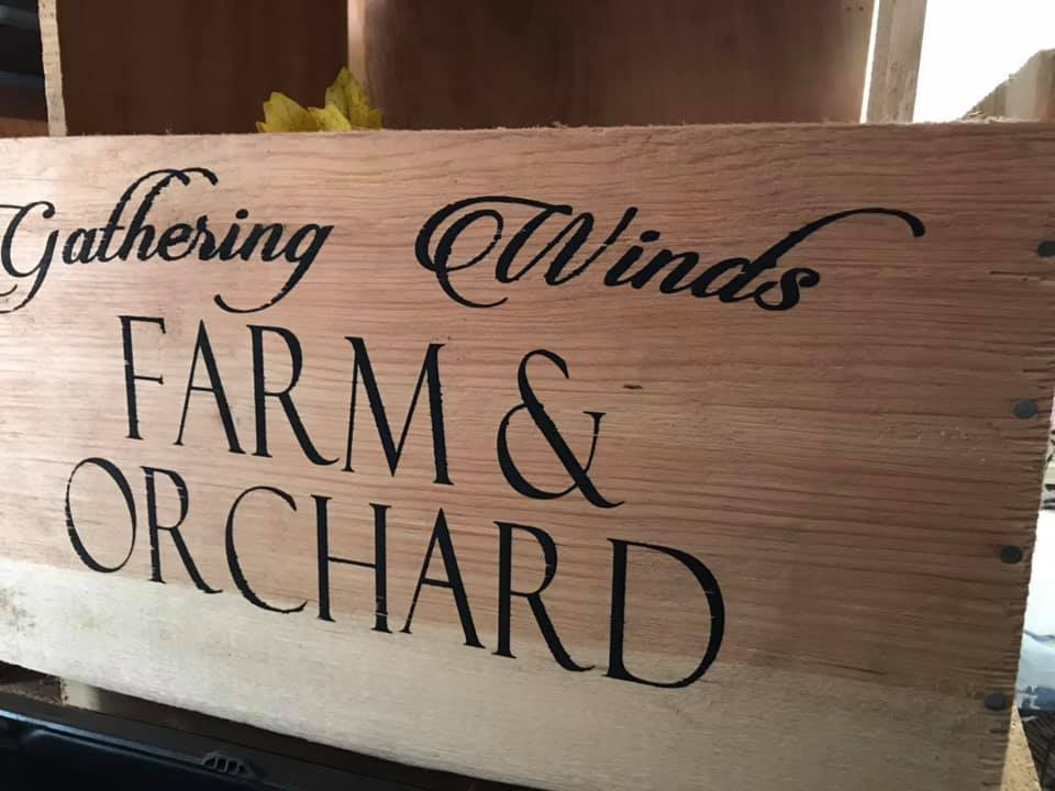 Gathering Winds Farm Crate